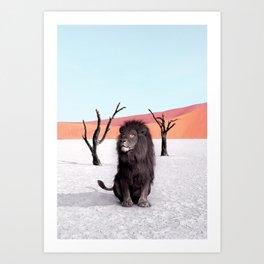Namibia Art Print
