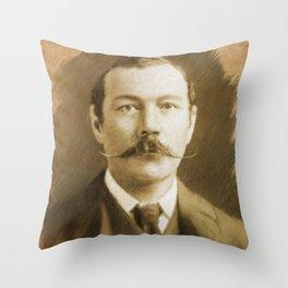 Sir Arthur Conan Doyle Throw Pillow