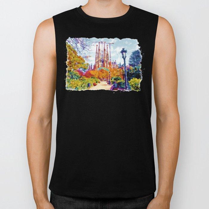La Sagrada Familia - Park View Biker Tank