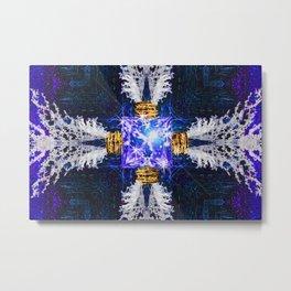 Embrace Ultramarine Metal Print