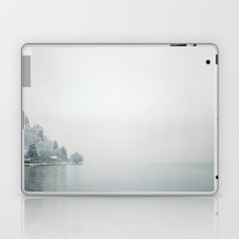 Annecy under the snow - French Alps Laptop & iPad Skin