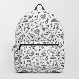 Modern Witch - White Backpack