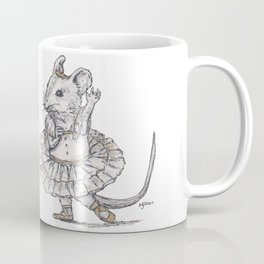 Tiny Dancer - Ballet Field Mouse Coffee Mug