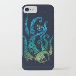 Undersea attack (neon ver.) iPhone Case
