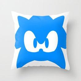 Sonic Blue Hedgehog Throw Pillow