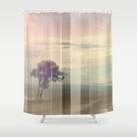 imagine Shower Curtains featuring Imagine by Eva Nev