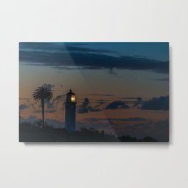 Point Vicente Lighthouse at Dawn Metal Print