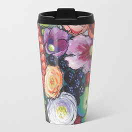 Red Sunflower Party Travel Mug