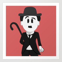 Charles Chaplin Art Print