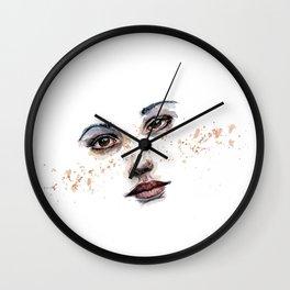 Freckle Wall Clock