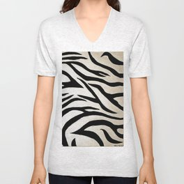 Tyger Stripes Unisex V-Neck