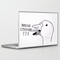 bread Laptop & iPad Skins featuring Bread Crumbs!!! by MichaelJenningsDoodleBoy