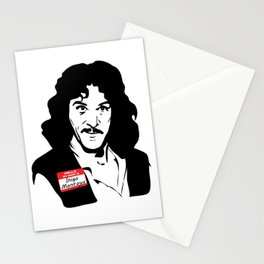 Hello, My Name is Inigo Montoya Stationery Cards