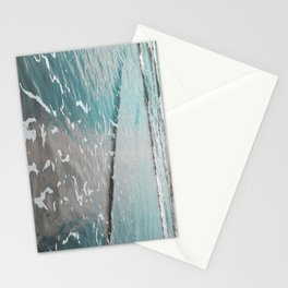 neon ocean Stationery Cards