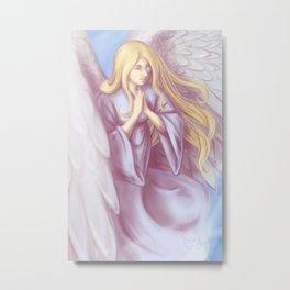 Lavender Angel Metal Print