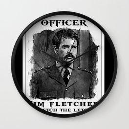Fletch the Letch Wall Clock