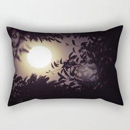Super Moon I Rectangular Pillow
