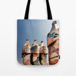 Gaudi Series - Casa Batllo No. 2 Tote Bag