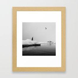 Hopeful Wish Framed Art Print
