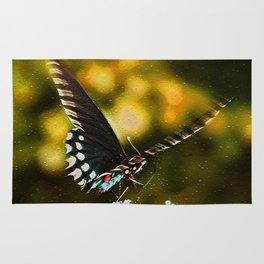 Flattering Flutter Rug