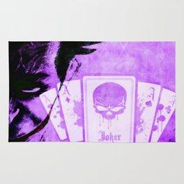 Purple Jokester Rug