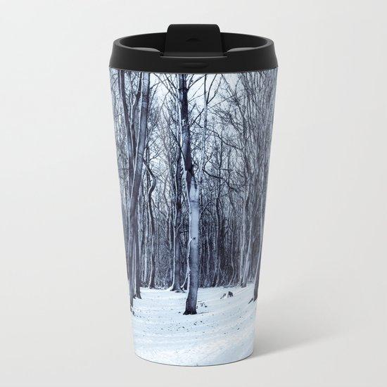 We Are The Trees Metal Travel Mug