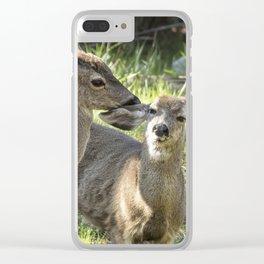 You Scratch My Ear... Clear iPhone Case