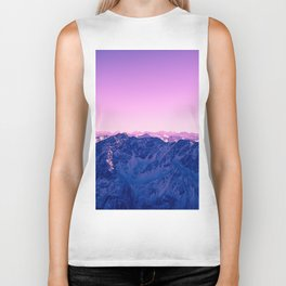 Pink Mountains #society6 #photography Biker Tank