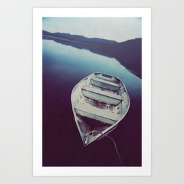 Calm on the Waters Art Print