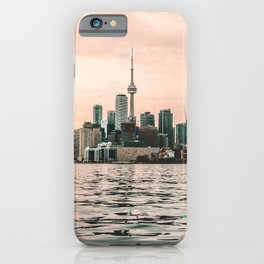 Canada Photography - Toronto In The Evening By The Water iPhone Case