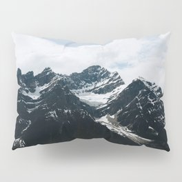 Mountains In Icefield Parkway Pillow Sham