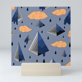 Blue Py Mini Art Print