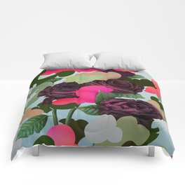 """Camouflowers """"Clouds"""" Comforters"""
