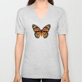 Monarch Butterfly | Vintage Butterfly | Unisex V-Neck