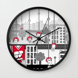 SF Mobile World Wall Clock