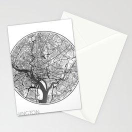 Washington Map Universe Stationery Cards