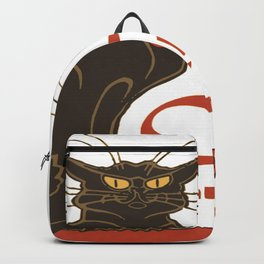 Tournee du Chat Noir D'Armistice Tribute Vector Backpack