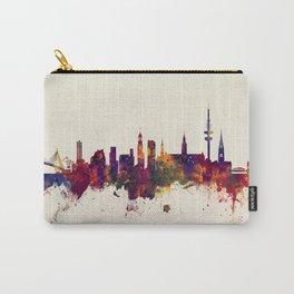 Hamburg Germany Skyline Carry-All Pouch