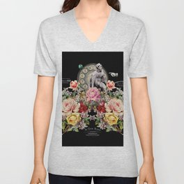 Nuit des Roses Revisited for Him Unisex V-Neck