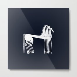 Athenian Horses Metal Print