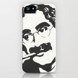 Mr. Marx Acrylic Pop Art iPhone Case