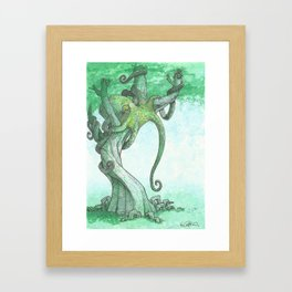 Fish Are Stupid Framed Art Print