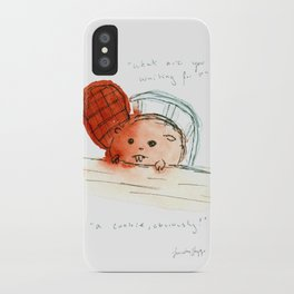 obviously. iPhone Case