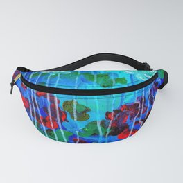 Abstract Flowers - No one knows her better Fanny Pack