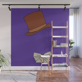 Willy Wonka Silhouette Wall Mural