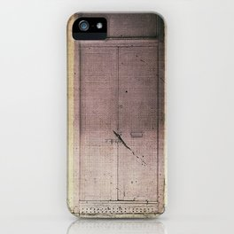 Vintage Facade iPhone Case