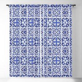 Mediterranean Tiles Design Nº1 Blackout Curtain