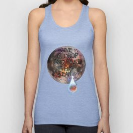 Give a Drop, and Take This Ocean Unisex Tank Top