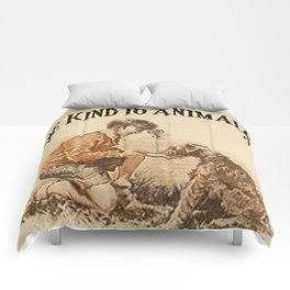 Be Kind To Animals 3 Comforters