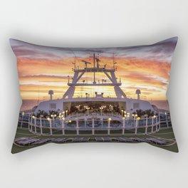 Towards the Rising Sun Rectangular Pillow